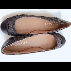 Coach flat shoes $40